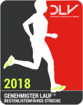 DLV bestenlistenfähiger Lauf 2018